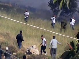 Israeli settlers fire at Palestinians