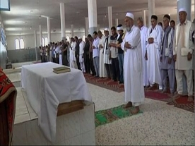 Funeral held for Lockerbie bomber