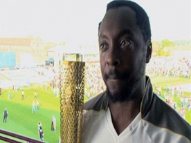 'The Voice' judge Will.i.am joins Olympic Torch relay