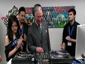 Prince Charles turns DJ in Toronto