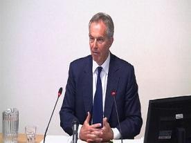 Tony Blair at Leveson says; 'press relationship' unhealthy