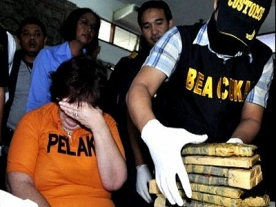 British woman smuggles 2.6 million Dollars cocaine