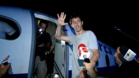 French journalist freed by FARC rebels