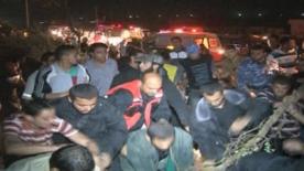 Airstrike in Gaza injures at least 2 people