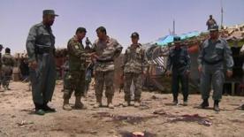 Suicide bomber on motorbike kills 22 in Afghanistan