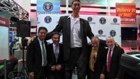 Relief for World's tallest man: he's stopped growing!