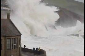 Atlantic storm heading for UK
