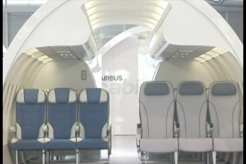 Airbus creates wider seats for obese passengers