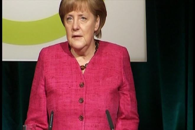 Merkel rejects use of Eurobonds