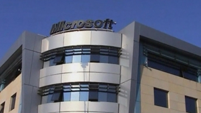 Flaming van attack on Microsoft office in Greece