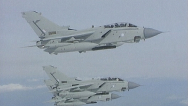 Search for two missing RAF jet pilots could resume today