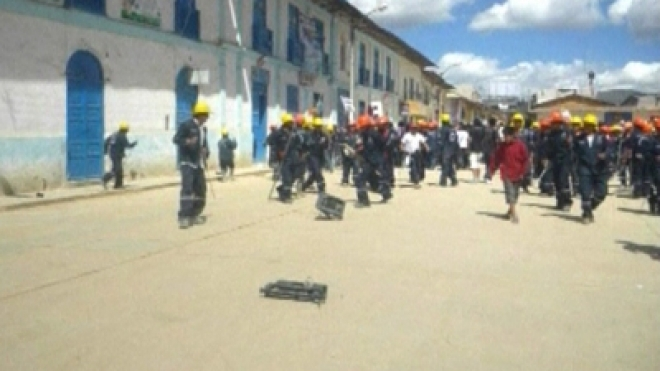 3 dead in Peru during clashes at mining protest