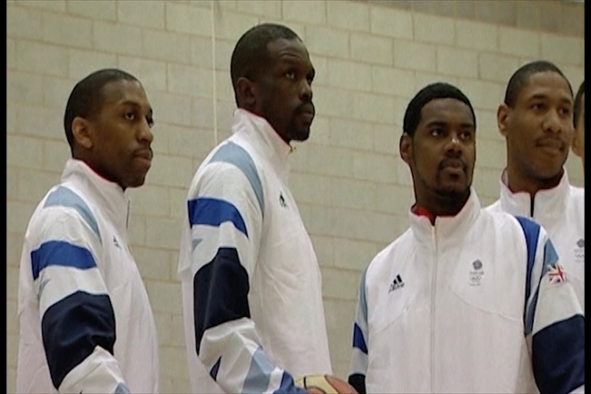 Britain's basketball team gears up for Olympic Games