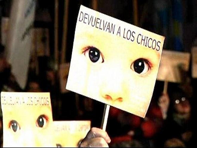 Ex Argentine Junta Leaders sentenced over 'Baby Snatching'