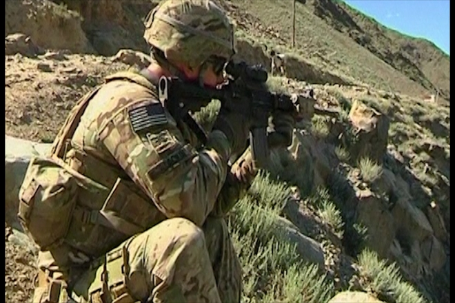 Seven US soldiers killed by roadside bombs in Afghanistan