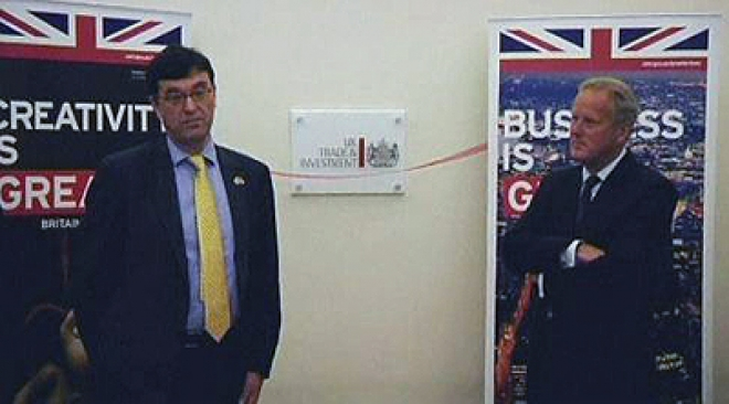 UK Trade & Investment open first office in Myanmar