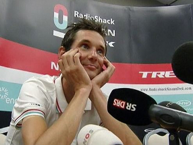 Cyclist Schleck 'denies' doping after testing positive