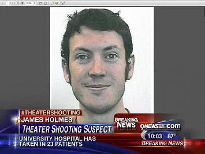 Denver Film Massacre Gunman named as James Holmes