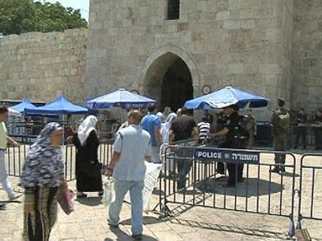 Massive Security in Israel as thousands arrive For Ramadan