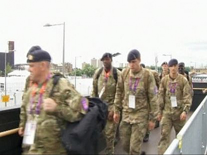 1,200 more troops deployed for London 2012