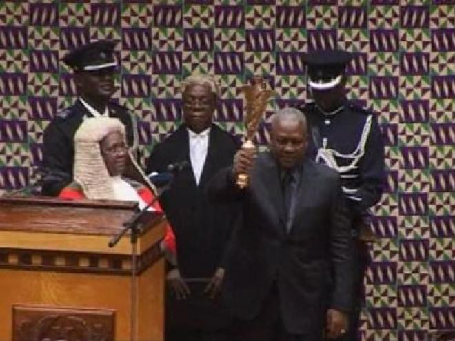 Ghana Vice President Sworn In