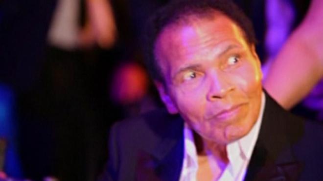 Muhammed Ali at Olympics Fundraising party in London