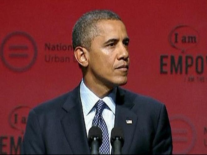 President Obama pledges to tackle U.S. gun violence
