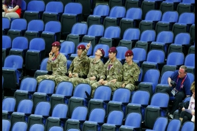 2012 London Olympics: Empty Seats Fiasco Continues