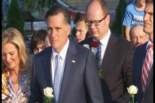 Polish trade unionists snub Mitt Romney