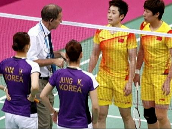 8 Olympic badminton players charged with misconduct