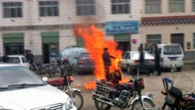 Tibetan self-immolation Protester Dies from Injuries