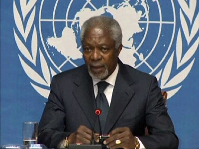 Kofi Annan Resigns as Special Envoy