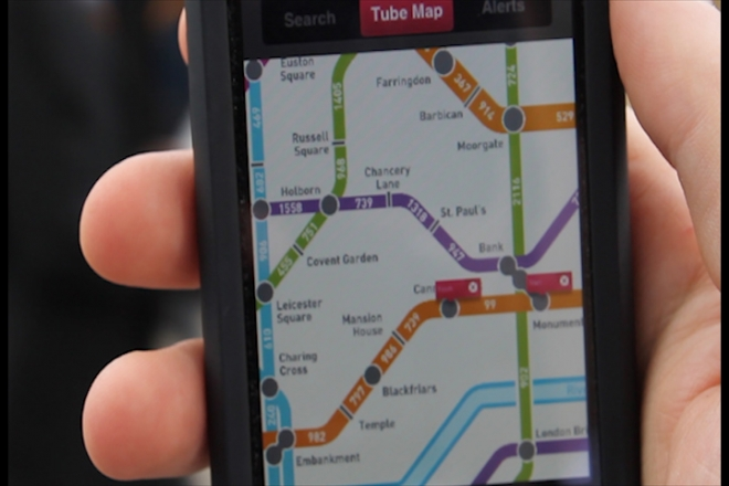 New app encourages people to 'walk the tube'