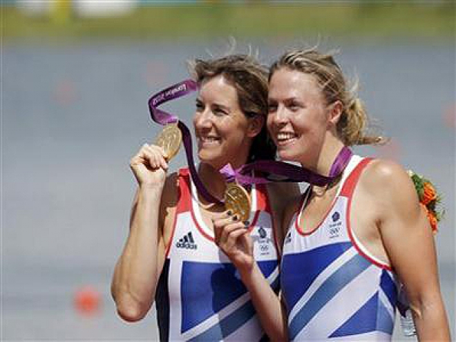 Olympics: Gold for GB's Grainger and Watkins