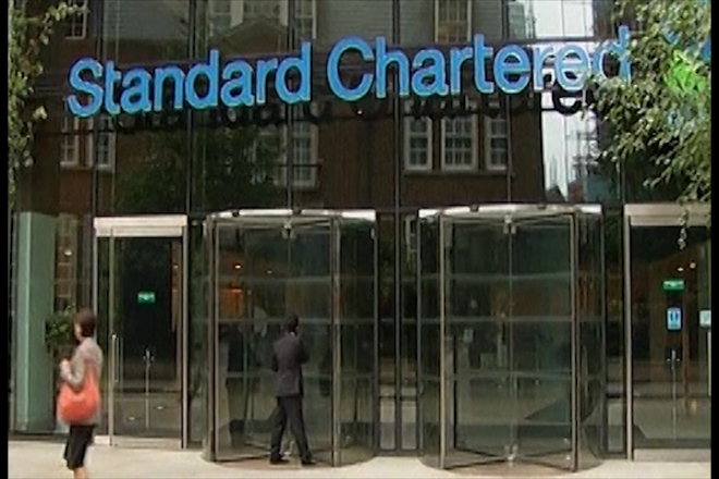 Standard Chartered shares slump over allegations