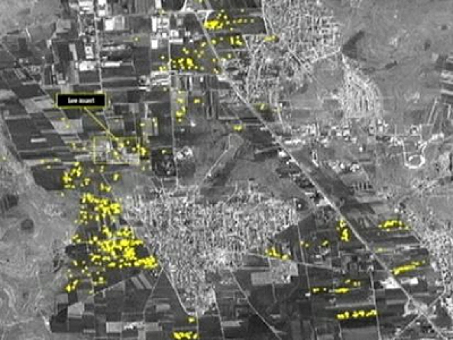 Amnesty Reveals Satellite pictures of Aleppo Bombing