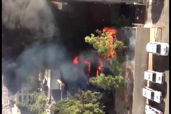 Three Hurt in Bomb Blast near UN Hotel in Damascus