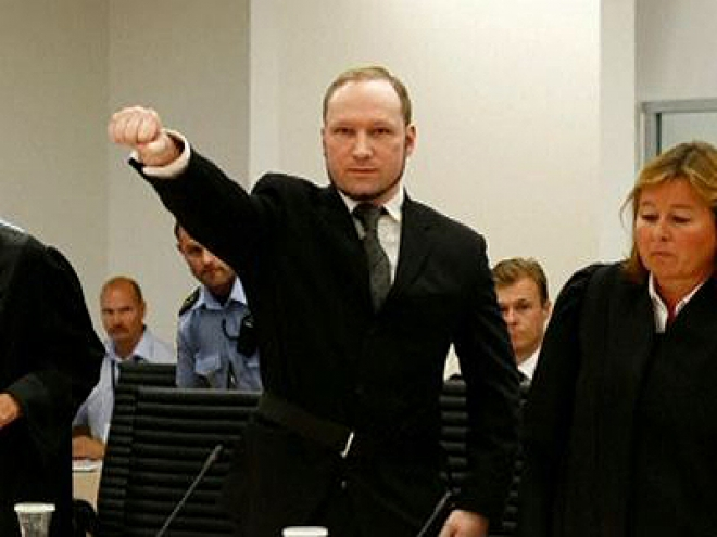 Mass killer Anders Breivik