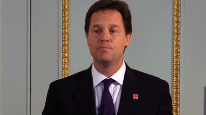 Nick Clegg: Britain's Wealthiest Must Pay More Tax
