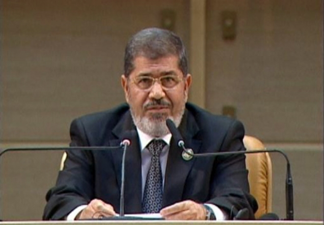 Egypt condemns 'oppressive' Syria sparking walkout