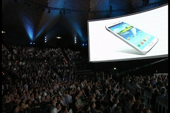 Samsung launches Galaxy Note 2 at IFA 2012