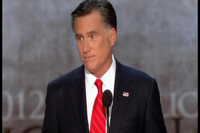 Mitt Romney pledges to restore 'America's promise'