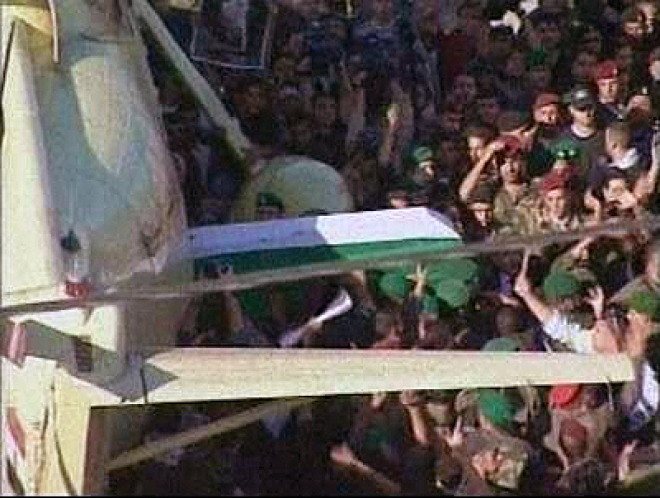 French Judges in Ramallah to Exhume Arafat's body
