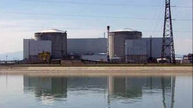 'Fire' at French Fessenheim nuclear power station