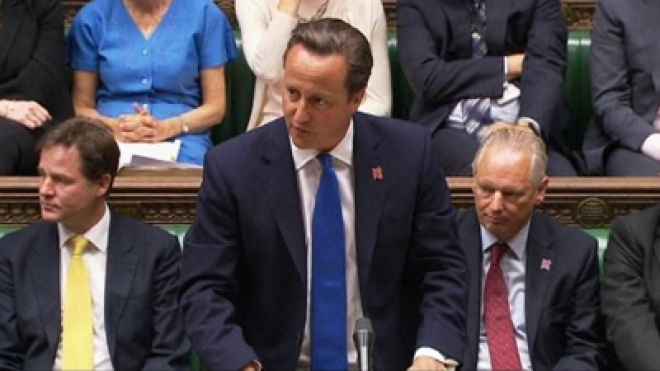 David Cameron: New Cabinet 'Means Business'