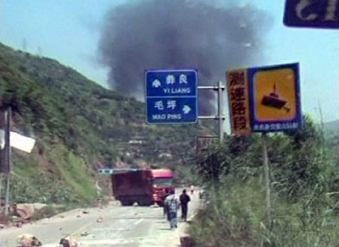 China hit by earthquakes: 50 dead, 150 injured