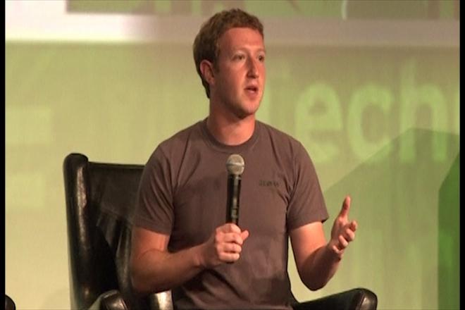 Facebook stock rises after Zuckerberg talk