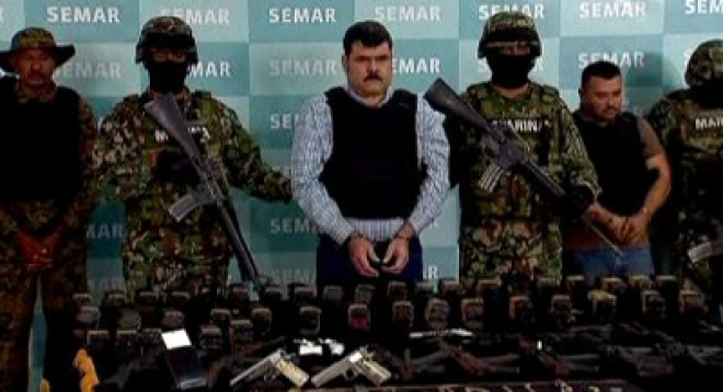 Mexico 'Gulf cartel boss' caught