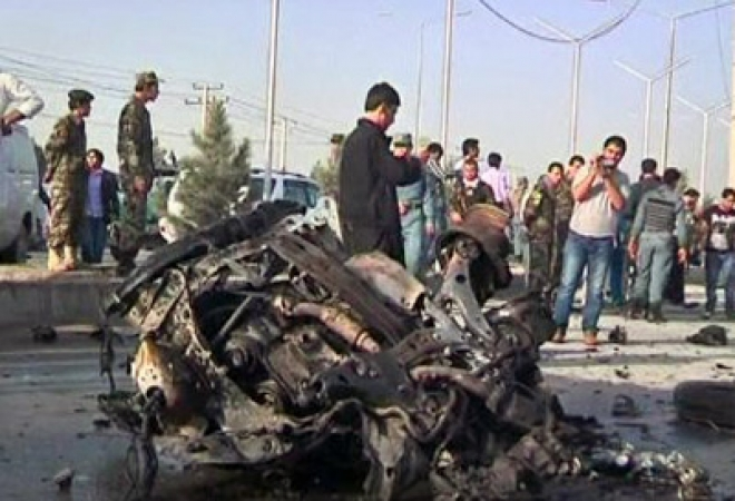 Female suicide bomber kills nine foreigners in Afghanistan