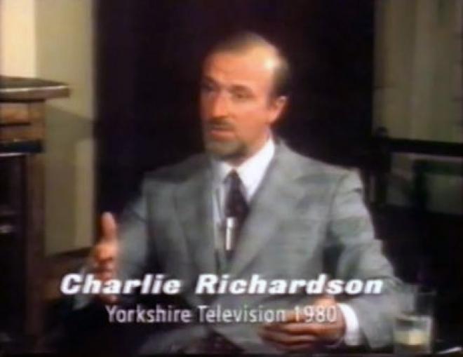 Torture Gang Leader Charlie Richardson dead